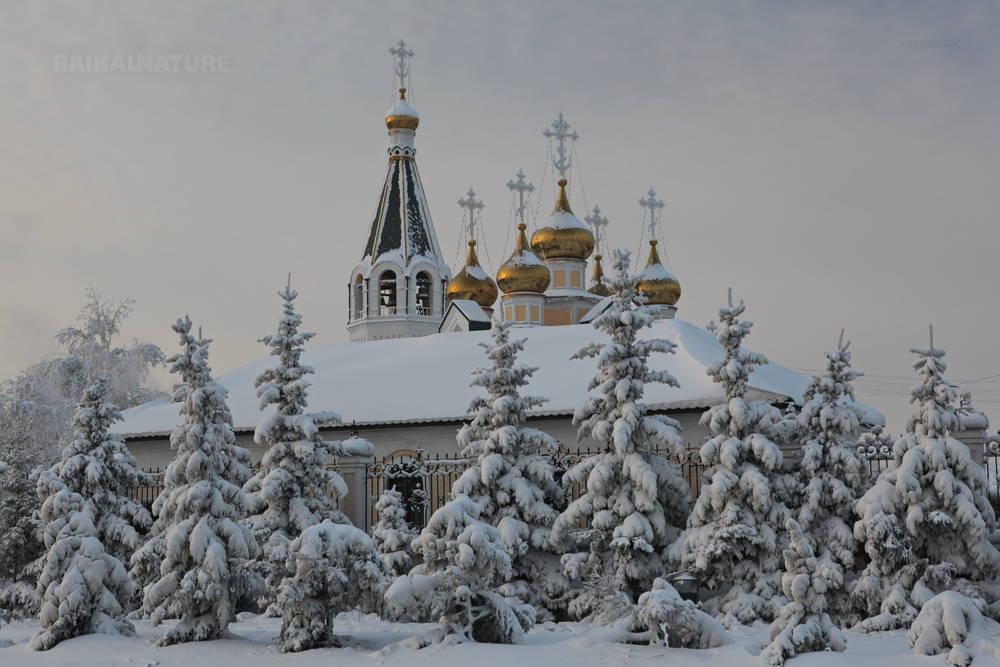 Une cathédrale à Yakoutsk