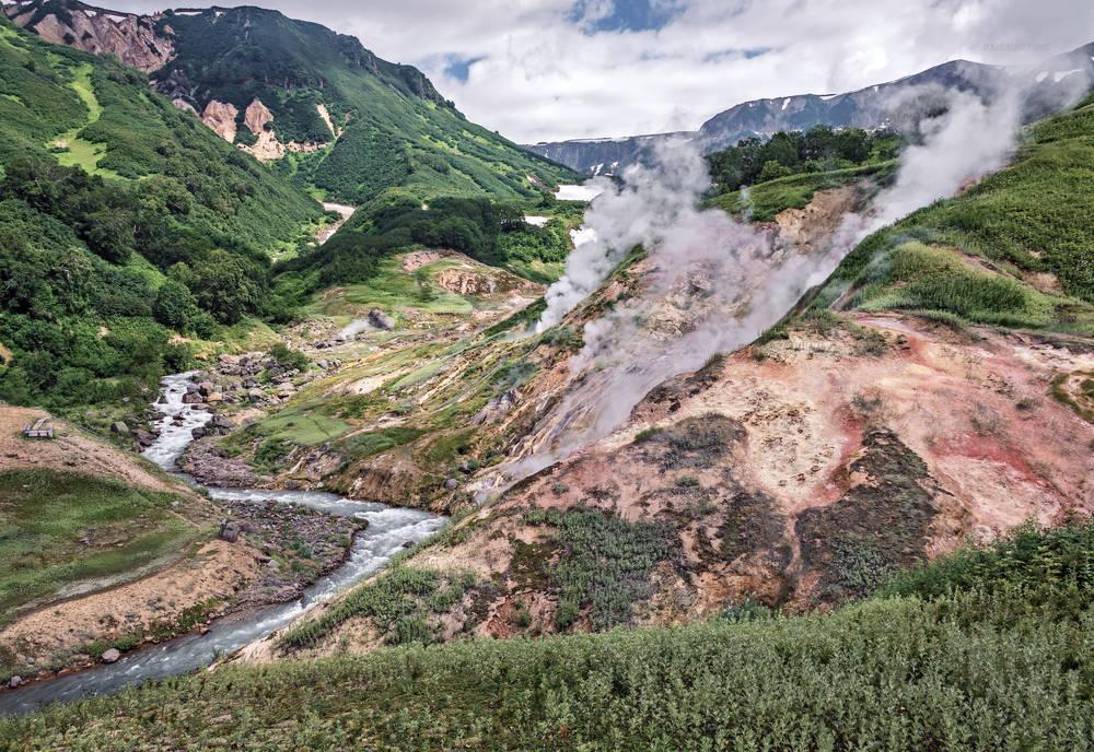 Легендарная Долина гейзеров - Камчатка.