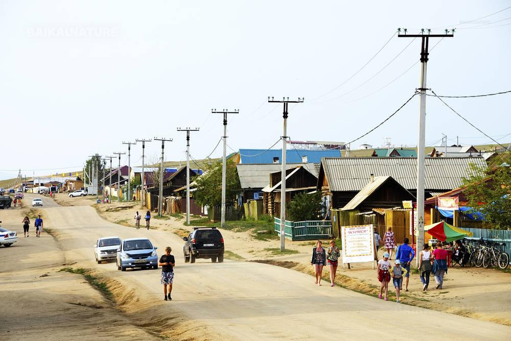 Остров Ольхон, поселок Хужир 07.07.2016.