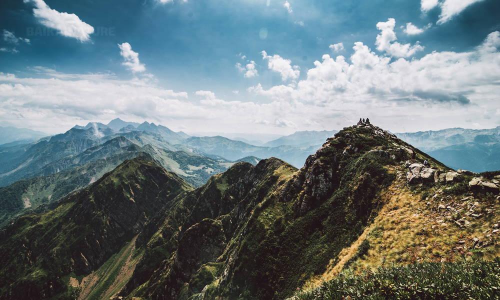 Горы в Сочи.