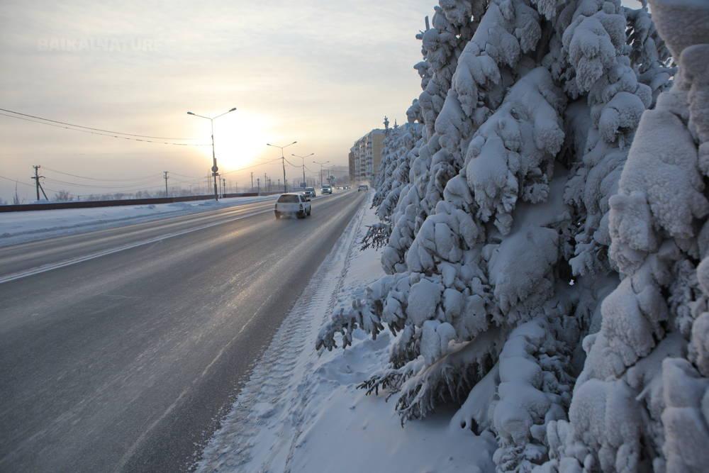 L'hiver à Yakoutsk