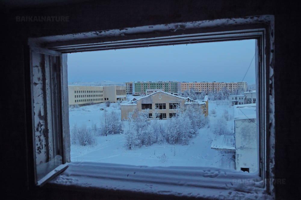 Вид на главную площадь города Кадыкчан