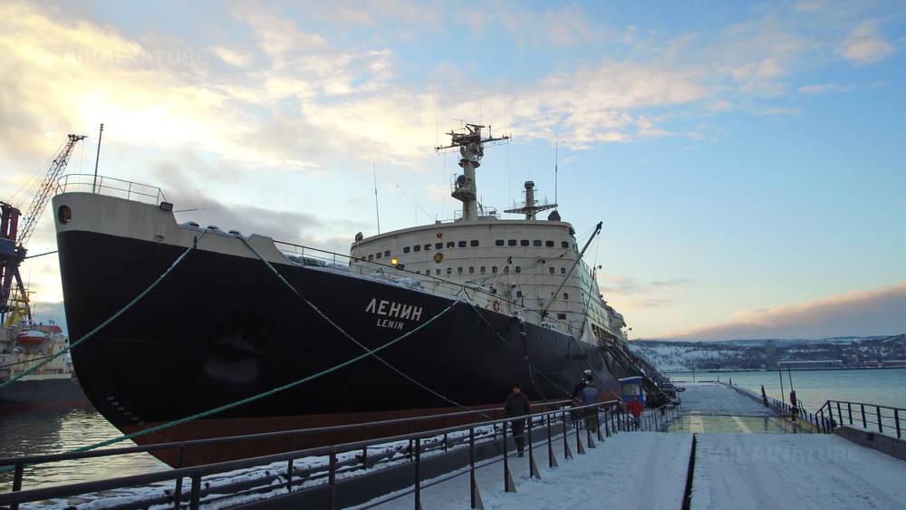 Brise-glace nucléaire Lénin