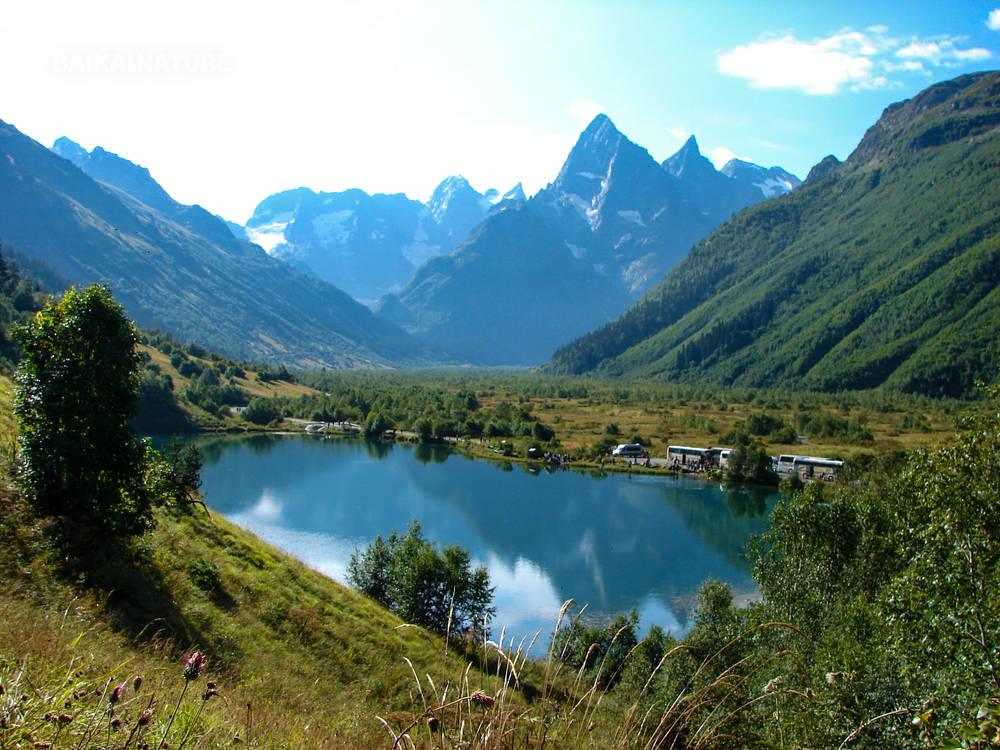 Blue Lakes Kabardino-Balkar Republic Caucasus