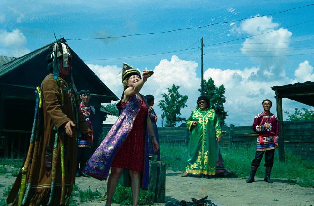 Шаманский обряд в Усть-Орде